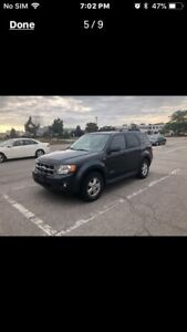 Must sell 2008 Ford Escape low kilometres ****