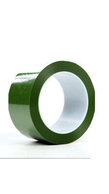 3m 8403 Polyester Tape Silicone Adhesive 2in X 72 Yds Green Translucent