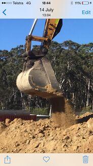 Excavator hogan mud bucket New Lambton Newcastle Area Preview