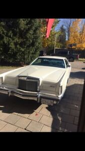 Lincoln Continental mark v 1978