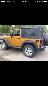 2014 Jeep Wrangler 2 door sport
