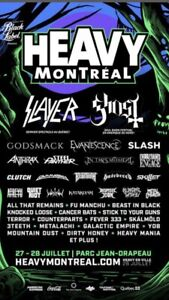 Heavy Montreal Weekend passes