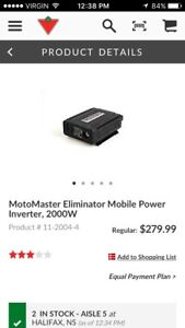Brand new 2000w inverter still in box