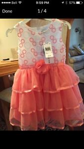 Beautiful brand new toddler dress size 03