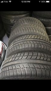 215.60.16 Michelin primacy alpin set 4 tires 85%