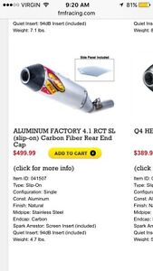 looking for aftermarket exhaust  for 2016 crf450r