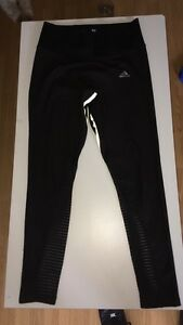 adidas half mesh leggings cool design