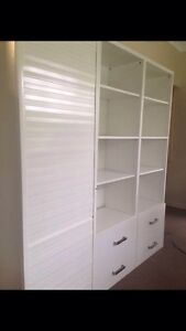 Shelving and cabinet set. Office Seven Hills Brisbane South East Preview