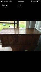 Timber toy box