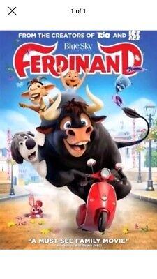 NEW: Ferdinand (DVD,2017)-Animation, Family- Free Shipping.