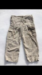 New quality made 100% woven hemp women's pants (size M)