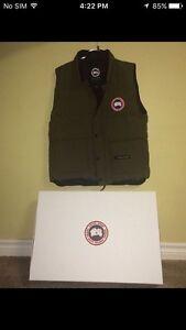 Olive Green Canada Goose Vest