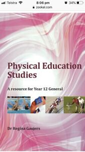 Wanted: WANTED Physical Education Textbook Year 12 General