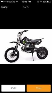 PRICE DROP !!!Brand new 125cc dirt bike