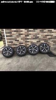 Subaru wrx wheels