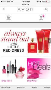 Avon Selling for my pearl area