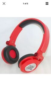 JBL Synchros E30 Red Folding Head phones