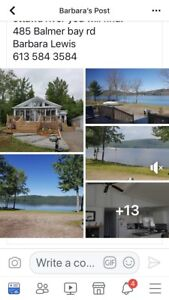 WATERFRONT HOUSE FOR SALE IN DEEP RIVER