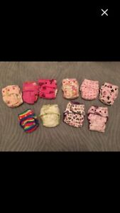 12 cloth diapers