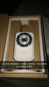 D Link wireless camera