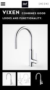 Dorf Vixen Retractable Sink Mixer Chrome Woodridge Logan Area Preview