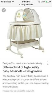 Searching for cheap or free baby bassinet
