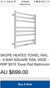 SKOPE 8 Bar Heated Towel Rail Kings Cross Inner Sydney Preview