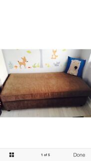 Beautiful Ottoman Sofa Bed/ Lounge Couch With Foam Mattress Bellevue Hill Eastern Suburbs Preview