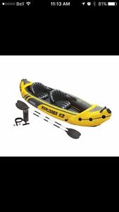 Intex K2 Explorer Inflatable two person Kayak