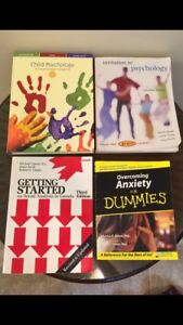 Child Psychology, Anxiety for Dummies and Social Analysis Books