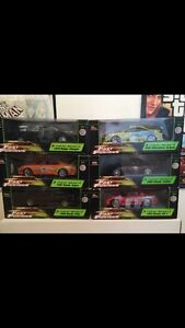 Various movie diecast car sets collectables