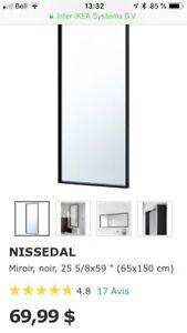 Miroir Ikea à vendre