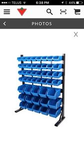 Master craft 47 bin storage rack