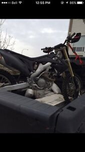 2011 CRF250R fuel injected