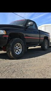 Dodge ram Mickey Thompson rims