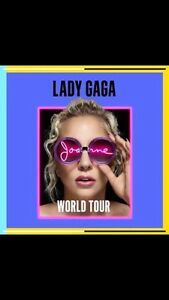 Billets spectacle Lady Gaga