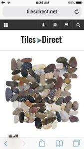 Great deal for Zen Bora wilderness tile pebble Mosaics.