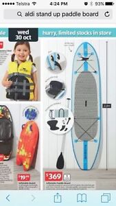 Inflatable Stand Up Paddle Board (SUP) Charlestown Lake Macquarie Area Preview