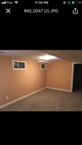 All inclusive 2 Bedrooms Basement Apartment for rent