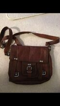 Leather satchel. Unisex use. Good as new. Rivervale Belmont Area Preview
