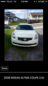 FOR SALE: 2008 NISSAN ALTIMA COUPE 2.5s