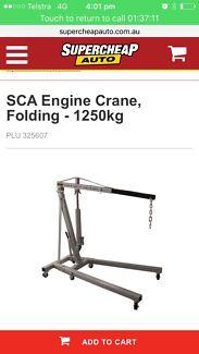 Super cheap auto engine crane and engine leveler  engine lift