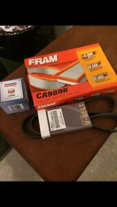 Filters and belt for Mazda 3 with 2.3 l engine St. John's Newfoundland image 1