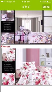 Manchester sale... 100%cotton quilt cover on cost price Glendenning Blacktown Area Preview