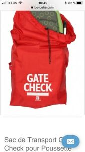 Sac de transport pour pousette simple gate check