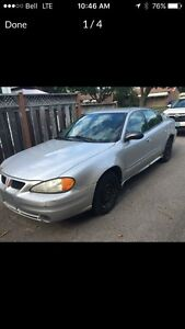 2004 grand am only 141000km
