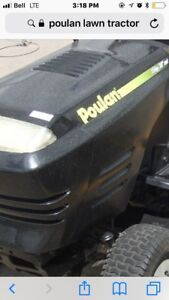 Poluan lawn tractor internal engine issue