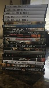Assorted DVDs / movies