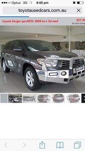 Toyota kluger Old Bar Greater Taree Area Preview