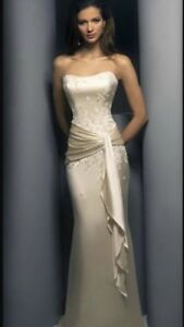 Demetris wedding gown. Size 12